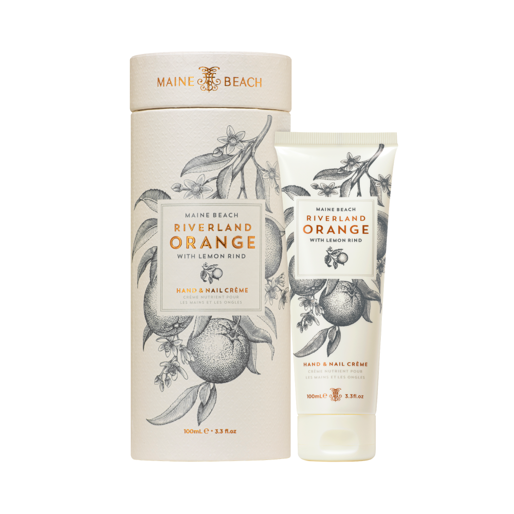 Maine Beach Riverland Orange Hand & Nail Créme 100ml