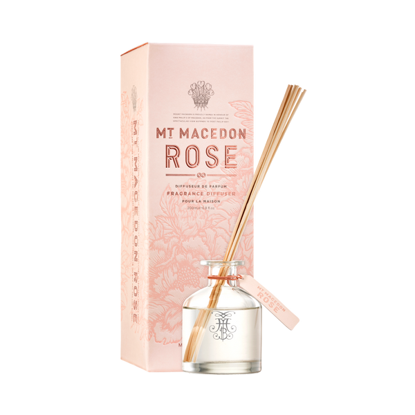 Mt Macedon Rose Fragrance Diffuser 200ml