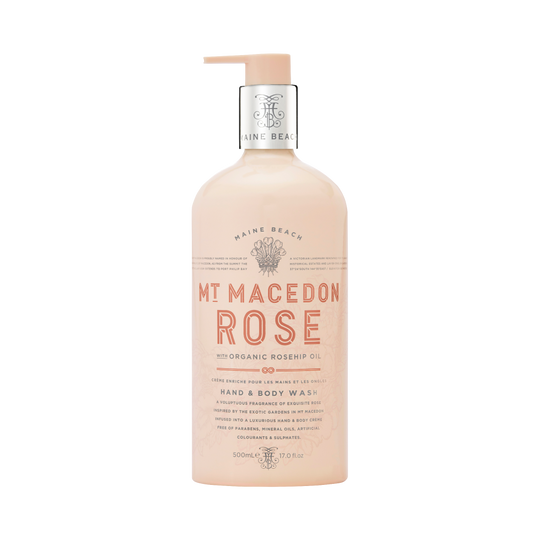 Mt Macedon Rose Hand & Body Wash 500ml