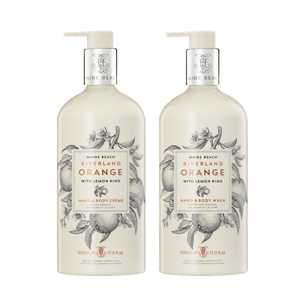 Riverland Orange Hand & Body 500ml Bundle