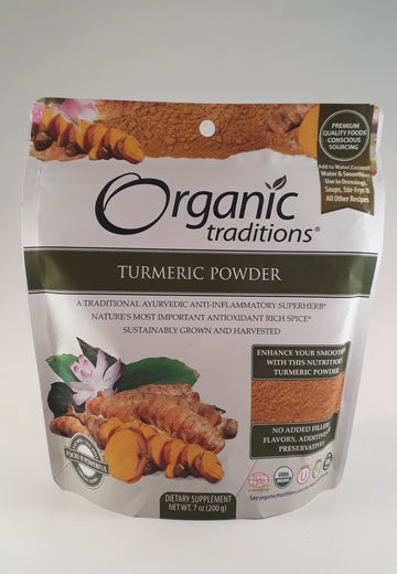 Organic Traditions Turmeric Powder