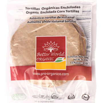 Tortillas Orgánicas Enchiladas Better World