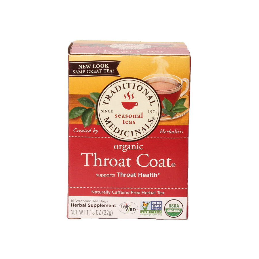 Tradicional Medicinals Throat Coat