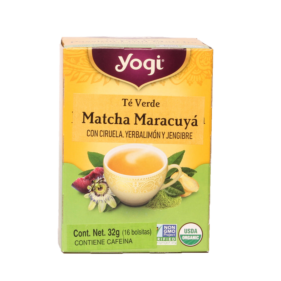 Yogi Green Tea Passion Fruit Matcha