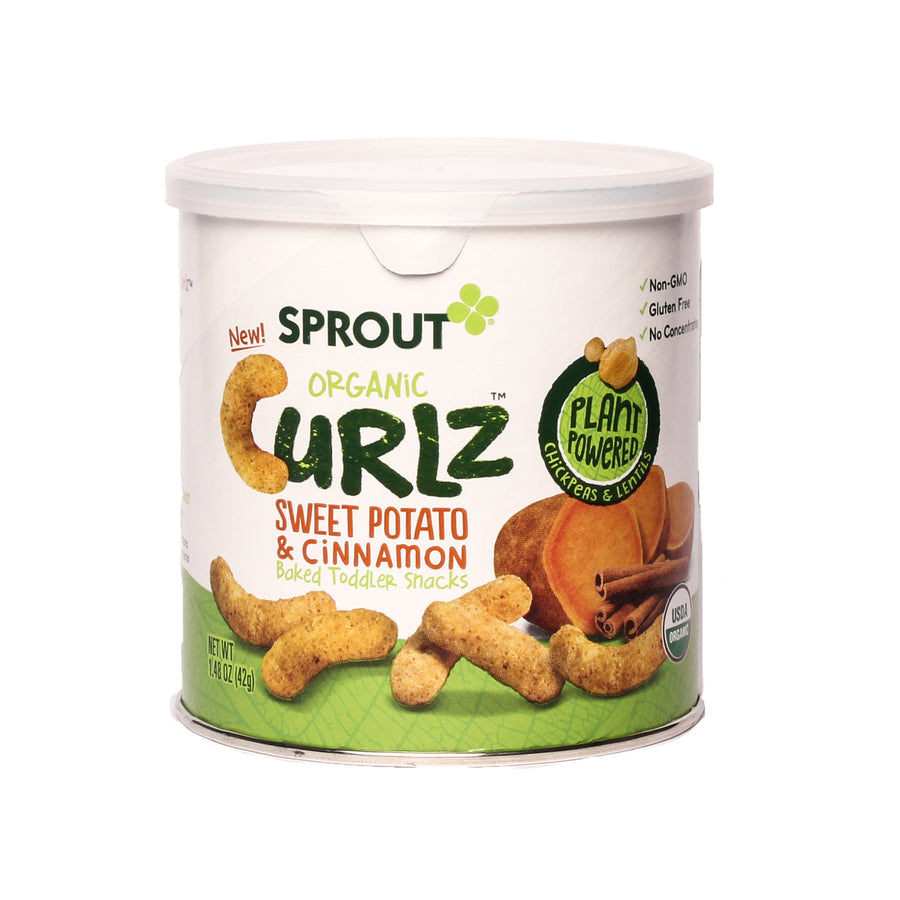 Sprout Organic Curlz Sweet Potato & Cinnamon
