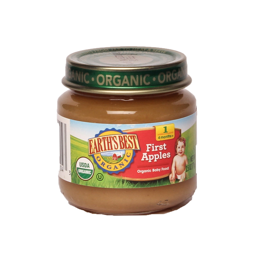 Earth's Best Organic Baby Food 1 First Apples