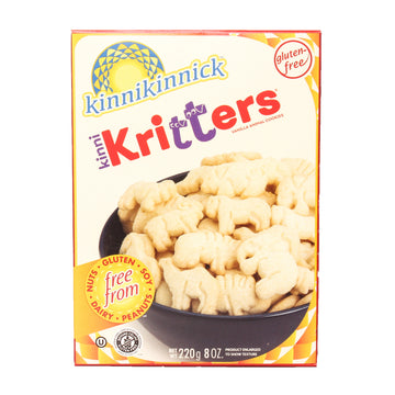 Kinni Kritters Vainilla Animal Cookies