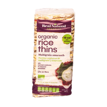 Real Organic Rice Thins Multigrain Amaranth