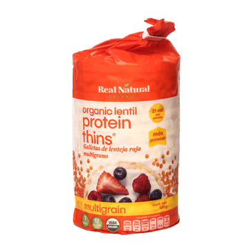 Real Natural Organic Lentil Protein Thins