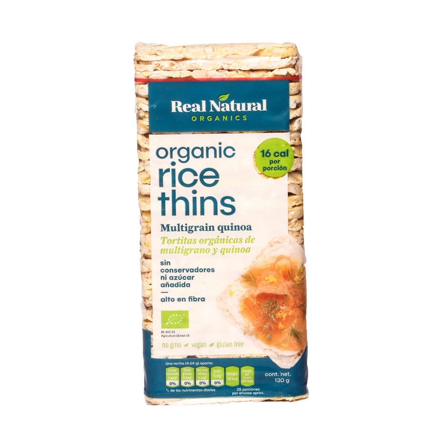 Real Organic Rice Thins Multigrain Quinoa