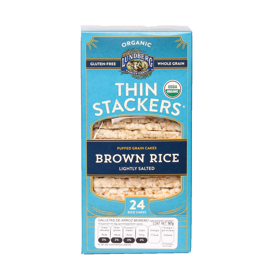 Lundberg Thin Stackers Brown Rice