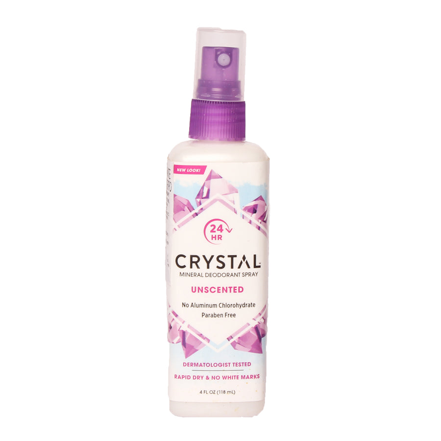 Crystal Mineral Deodorant Spray Unscented