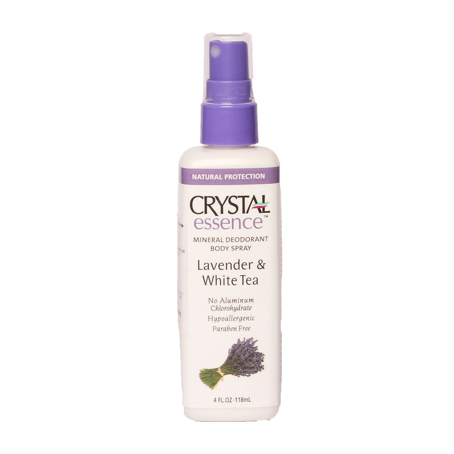 Crystal Essense Mineral Deodorant Body Spray Lavander