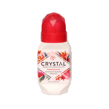 Crystal Mineral Deodorant Roll-on Pomegranate