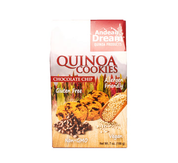 Andean Dream Quinoa Cookies