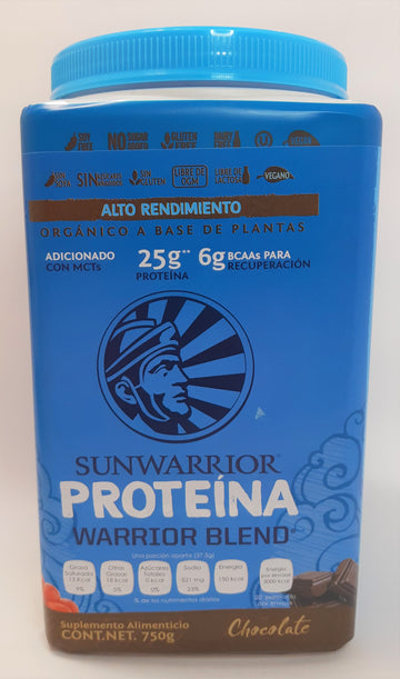 Sunwarrior Proteína Warrior Blend Chocolate