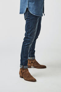 NIMES VINTAGE INDIGO SKINNY - SOLD OUT