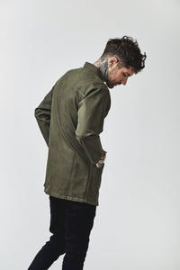 TENCHI JAPANESE JACKET - HEXA GREEN