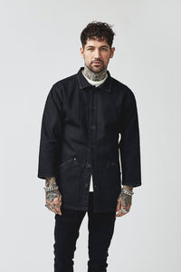 TENCHI JAPANESE JACKET - ONYX BLACK