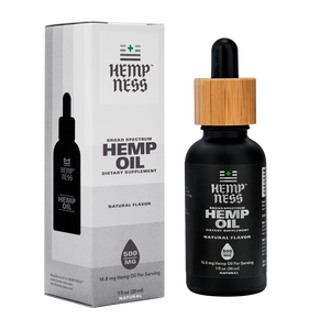 HEMPNESS CBD WELLNESS PRODUCTS BROAD SPECTRUM HEMP OIL