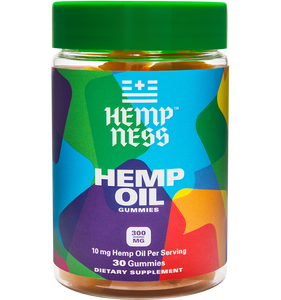 HEMPNESS CBD WELLNESS PRODUCTS ISOLATE HEMP OIL GUMMIES GUMMY