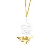 The Medusa Pendant Necklace