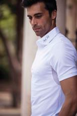 Mark Todd Competition Polo Shirt Brad Mens White - 75% OFF