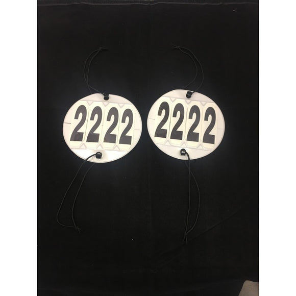 Competition Bridle Number Set Of 2