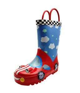 Cotswold Puddle Boot Waterproof Wellington Boots Kids - Car Size 10 - 75% OFF