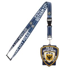 Gotham Police Department Breakaway Lanyard With ID Badge Holder