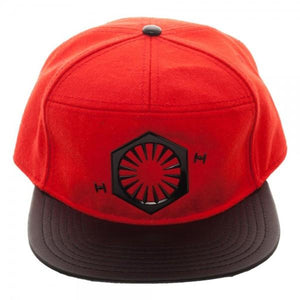 Salt Planet Metal Embroidered Felt Snapback Cap