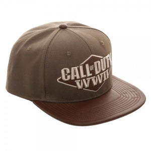 Call of Duty: World War II 3D Embroidered Snapback Cap