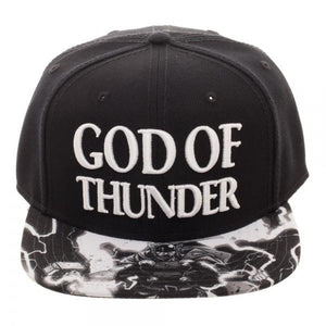 Thor God Of Thunder Snapback Cap