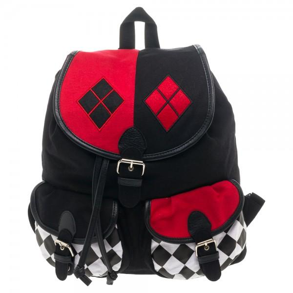 DC Comics Harley Quinn Knapsack BackPack
