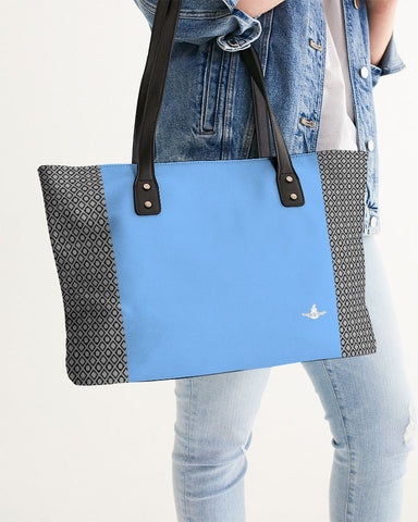 DBS Diamond Outline Blue Stylish Tote