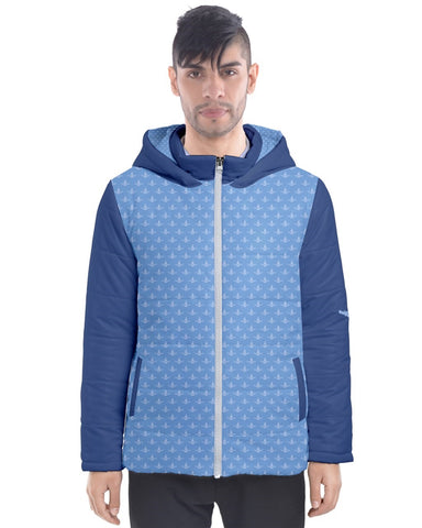 DBS LSP Blues Men's  Puffer Coat
