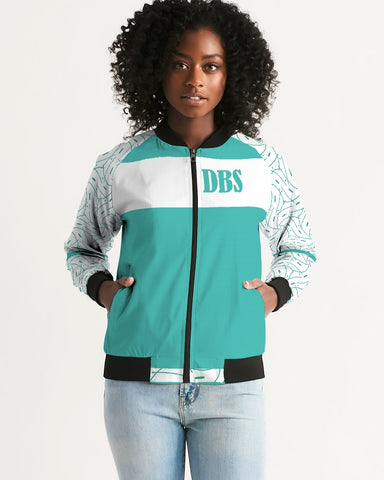 Abstract DBS 1 Women's Bomber Jacket