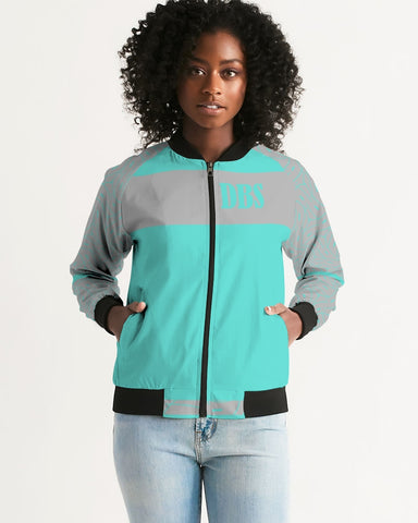 Abstract DBS 2 Women's Bomber Jacket
