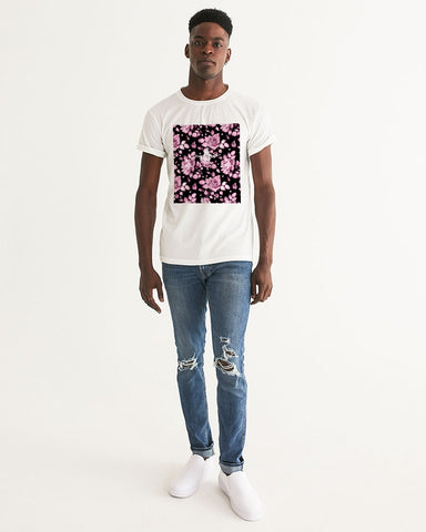 Flower-Facts-Front-4 Men's Graphic Tee