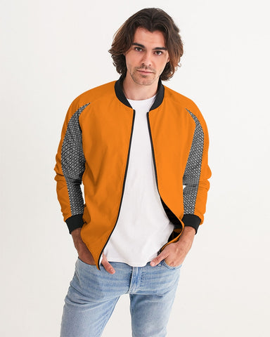 DBS Diamond Outline Orange Men's Jacket