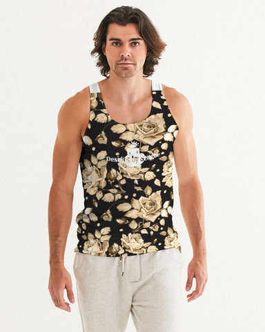 Flower-Facts 1 Men's Custom Tank
