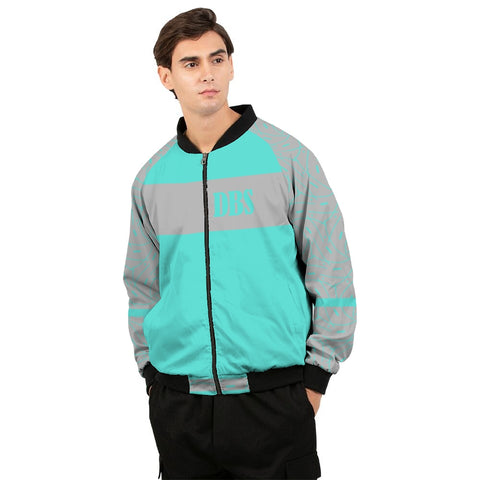 Abstract DBS 2 Men's Bomber Jacket