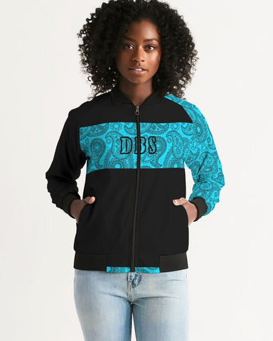 Pushin Paisely 3 Women's Bomber Jacket