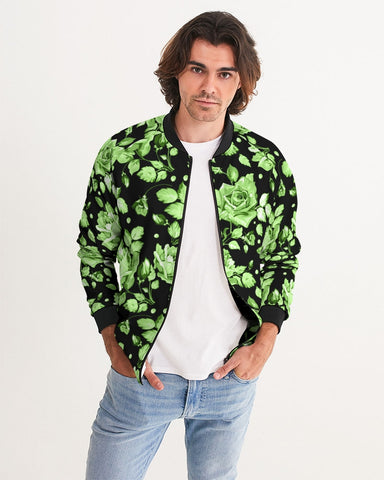 Flower-Facts-Front-3 Men's Bomber Jacket