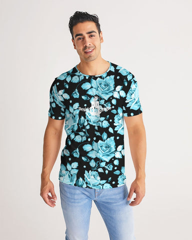Flower-Facts-Front-2 Men's Custom T