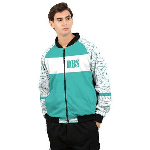 Abstract DBS 1 Men's Bomber Jacket