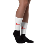Red DBS Logo Socks