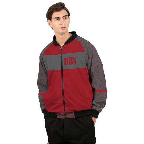 Abstract DBS 3  Men's Bomber Jacket