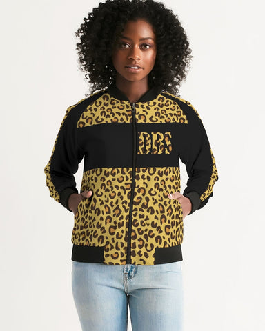 DBS Anmalistic Leapard Women's Bomber Jacket