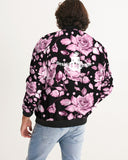 Flower-Facts-Front-4 Men's Bomber Jacket